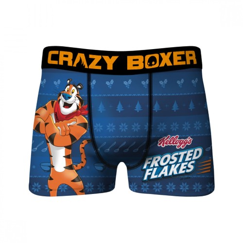 Frosted the Flakes Tony the Tiger Holiday Men's Underwear Boxer Briefs