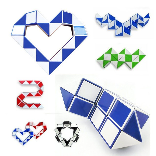 Cool Snake Magic Variety Popular Twist Kids Game Transformable Gift Puzzle