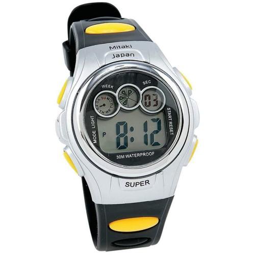 Unisex Waterproof Digital Sports Watch with Date, Stop Watch & Light