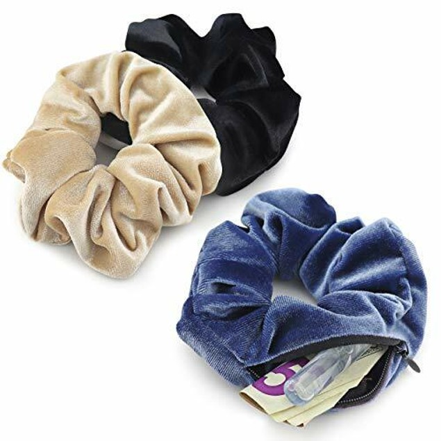 Scrunchies with Pocket – 6PK