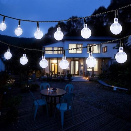 Outdoor LED Crystal Solar Balls
