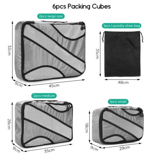 TRAVEL SUITCASE STORAGE BAG LUGGAGE LINER ORGANIZER CLOTHES PACKING CUBE