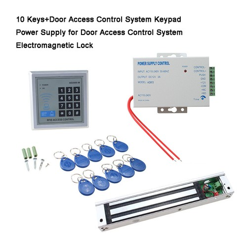 620LBS HOLDING FORCE ELECTRIC MAGNETIC LOCK FOR DOOR ACCESS CONTROL SYSTEM