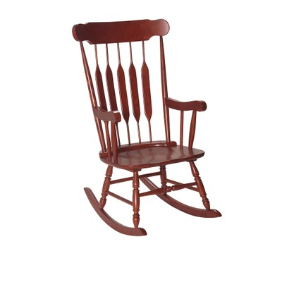 Gift Mark Adult Rocking Chair Cherry Finish