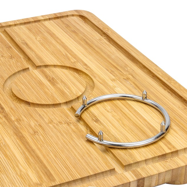Spiked Bamboo Carving Board | MandW