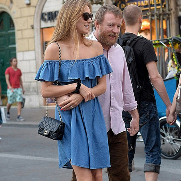 Women Fashion Off the Shoulder Casual Denim Dress