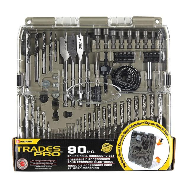 Trades Pro 90-Piece Drill Bit Set