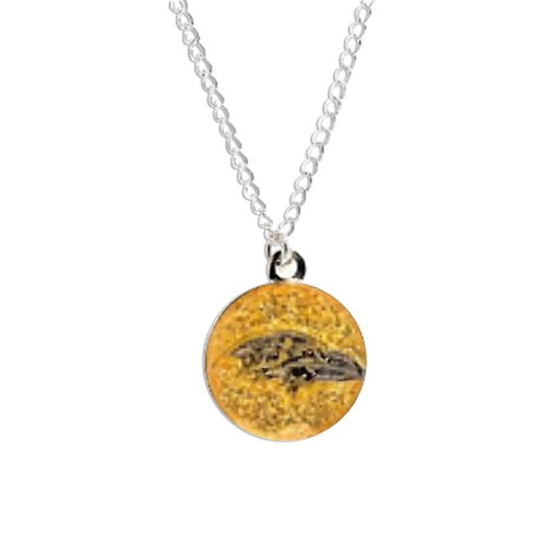 Cleanlapsports Baltimore Ravens Glitter Necklace