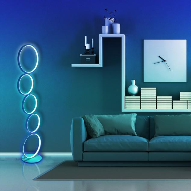 RGB Circular Floor Lamp