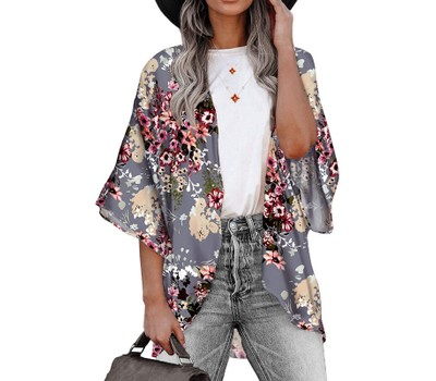 Women's Lightweight Summer Kimono Cardigan Cover Up Was: $34.99 Now: $15.99.