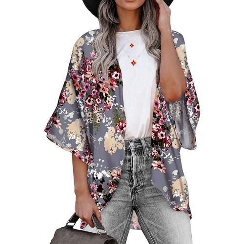 Women's Lightweight Summer Kimono Cardigan Cover Up