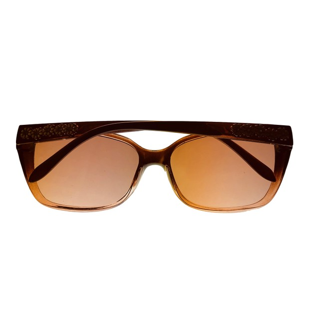 Esprit Sunglass  Womens Brown Plastic Rectangle Sunglass ET19450. 535