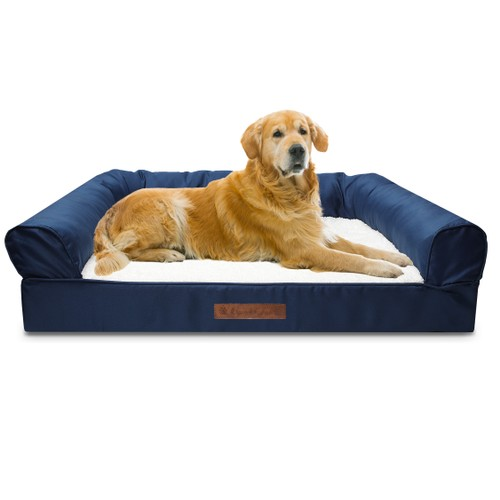 Premium Sofa-Style Orthopedic Pet Bed