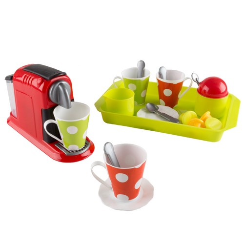 Coffee Maker Toy Set- Pretend Kitchen Appliance for Play Espresso