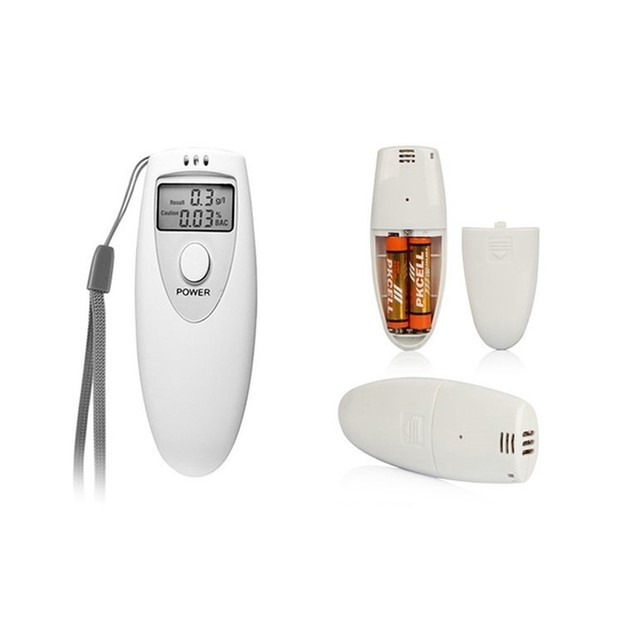 Digital Alcohol Breathalyzer with LED