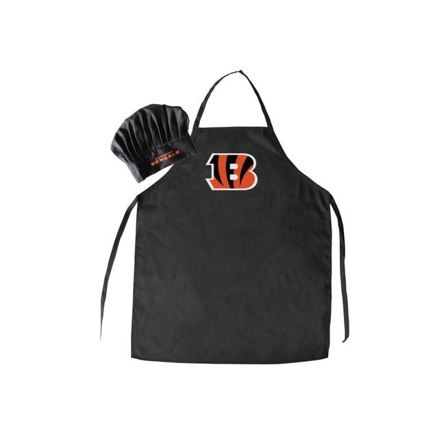 NFL Cincinatti Bengals Apron and Chef Hat