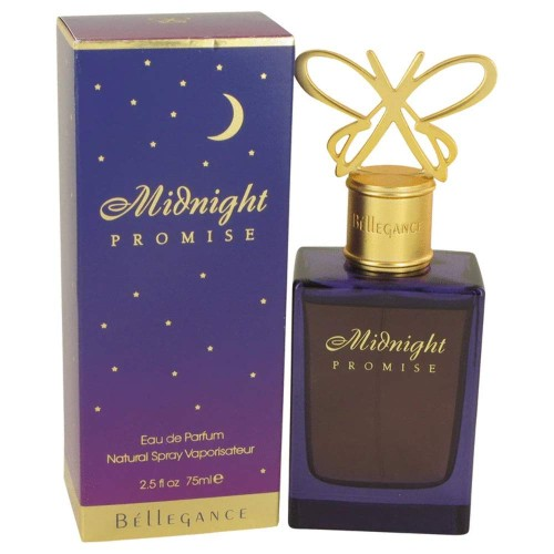 Bellegance Midnight Promise Eau De Parfum Natural Spray, 2.5 oz