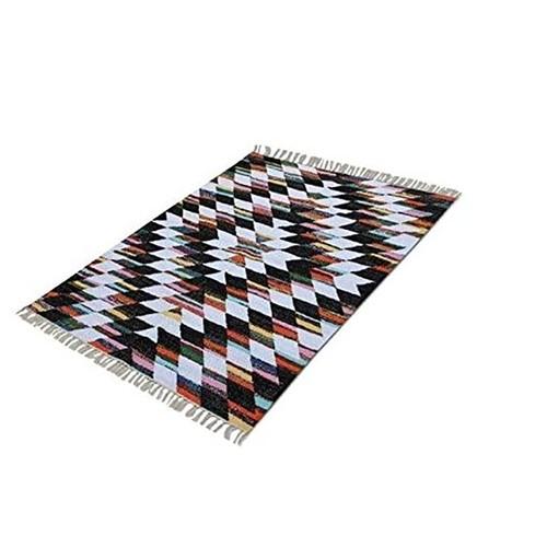 Spura Home Handmade Geometric Mechkil Area Rug 5X8 for Dining Room