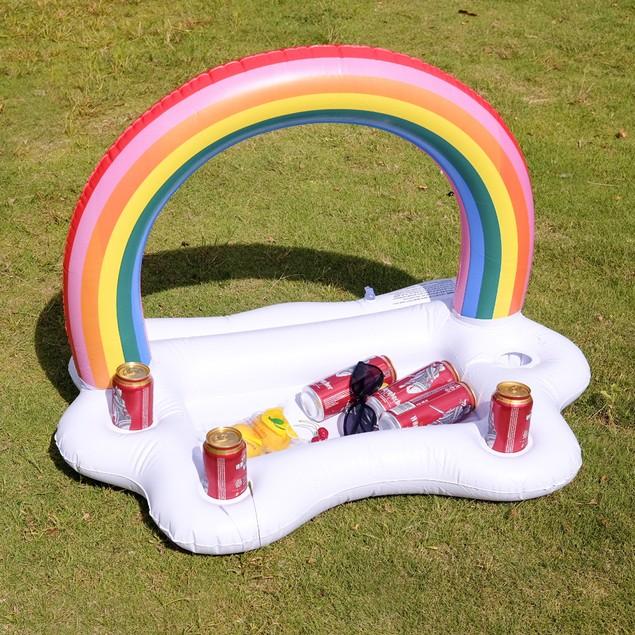 Rainbow Inflatable Pool Bar
