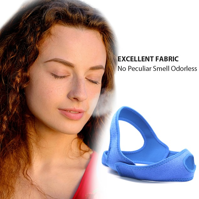 Anti Snore Chin Strap Stop Snoring Belt Sleep Jaw Support