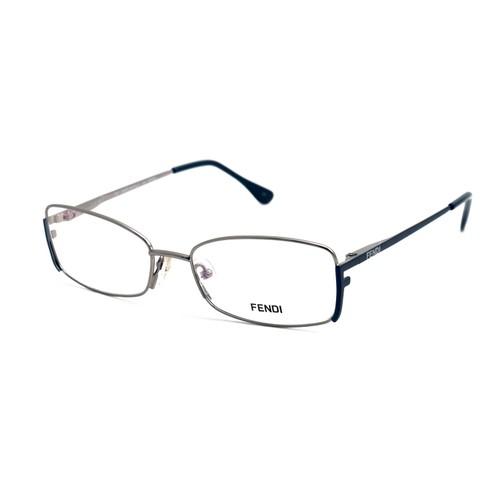 Fendi Eyeglasses Women Nickel Full Rim Rectangle 52 16 135 F960 030