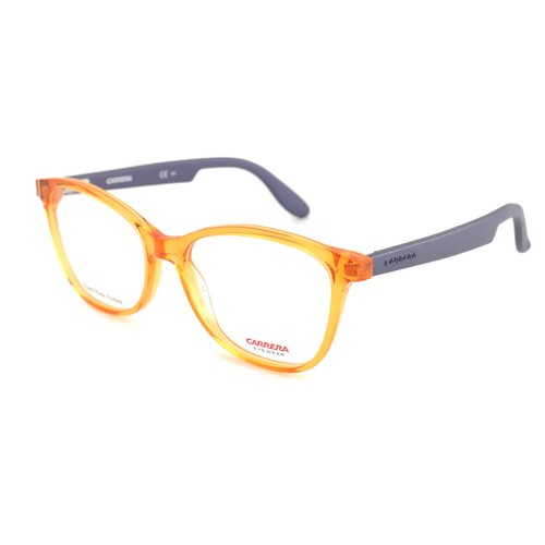 Carrera Women Eyeglasses Orange/Purple Cat Eye CA 5501 BDB Full Rim 52 17 140