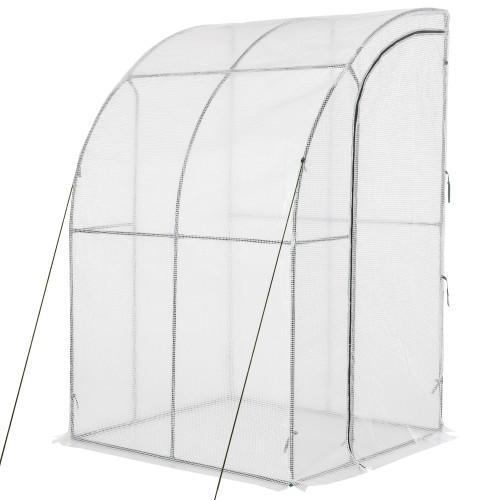 Medium 4.7' x 3.9' x 7' Plant & Vegetable Hot House w/ UV-Resisant Cover