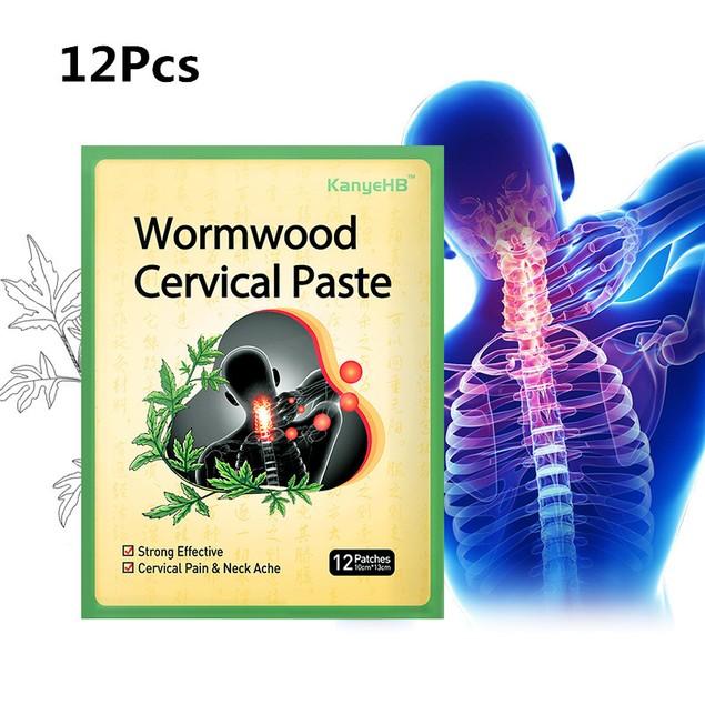 12Pcs Wormwood Shoulder & Neck Patch