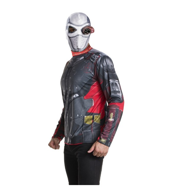 Deadshot Costume Kit Suicide Squad Will Smith DC Villain Harley Joker Movie