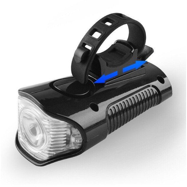 4N1 Rechargeable Bicycle LED Light With Speedometer, Bell & Tail Light