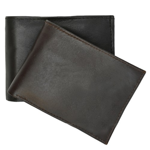 Monterrey Slim Bi-fold Leather Wallet
