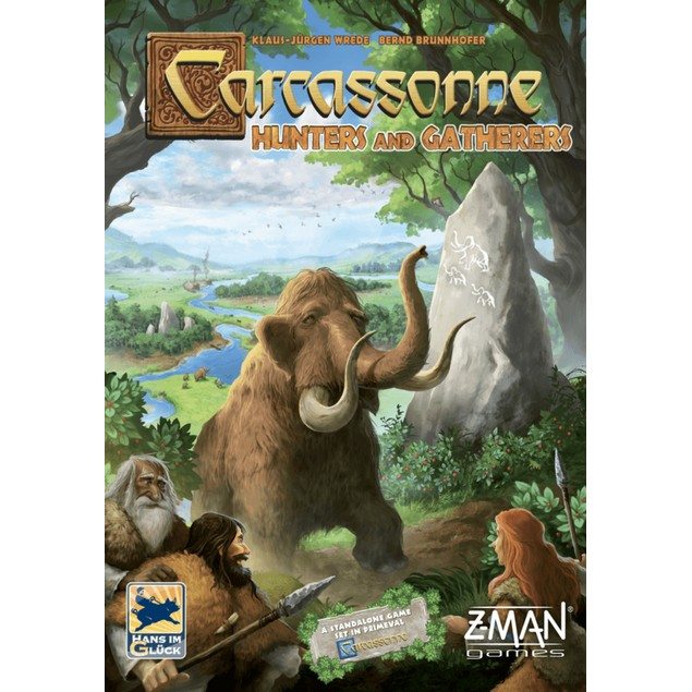 Carcassonne: Hunters and Gatherers (2020) Board Game