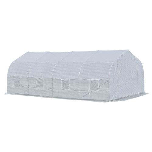 20x10x7' Walk-in Tunnel Greenhouse Portable Backyard Plant Growth Shed