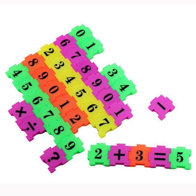 36Pcs Baby Child Number Symbol Puzzle Foam Maths Educational Toy