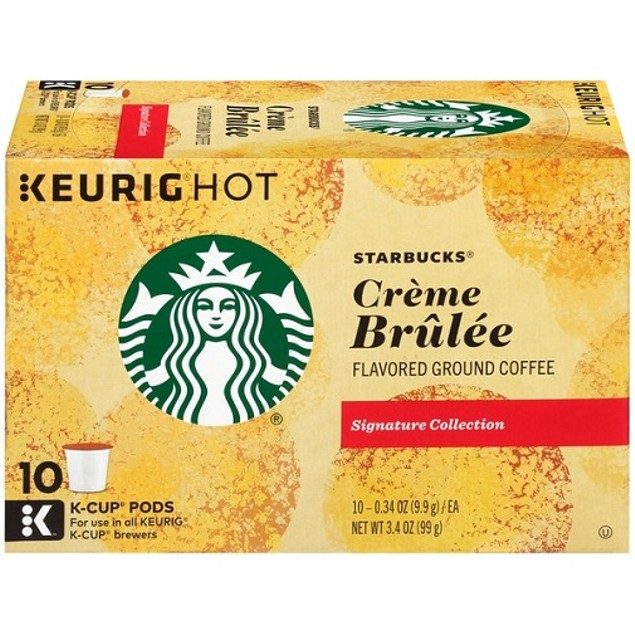 Starbucks Creme Brulee Keurig K-Cups 2 Box Pack
