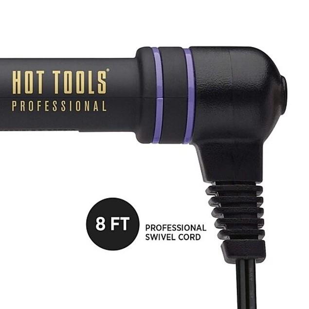 Hot Tools Professional Rose Gold 1-1/4 Digital Flipperless Curling Wand, 1 ct.