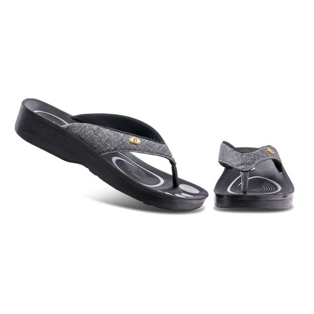 AEROTHOTIC Original Orthotic Thong Flip-Flop Sandals + Arch Support Comfort