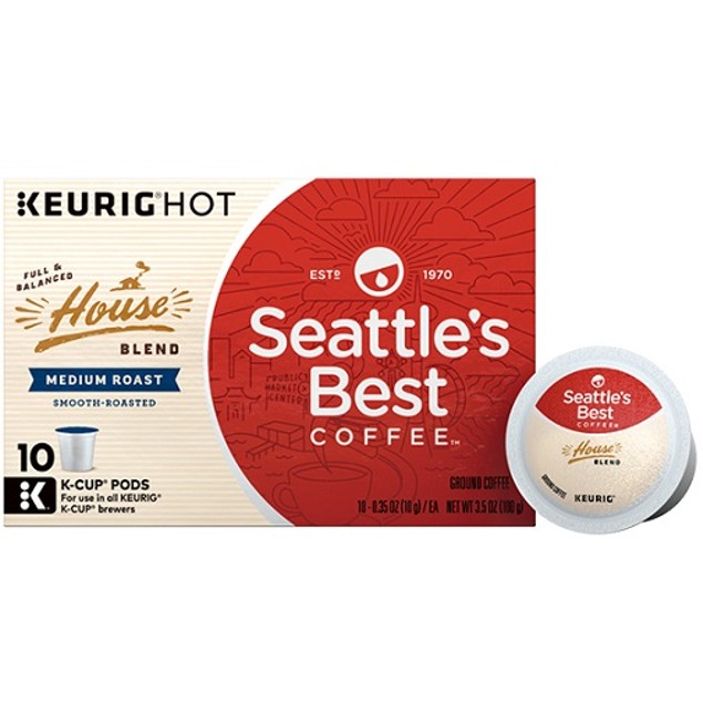 Seattle's Best Coffee House Blend Keurig K-Cups