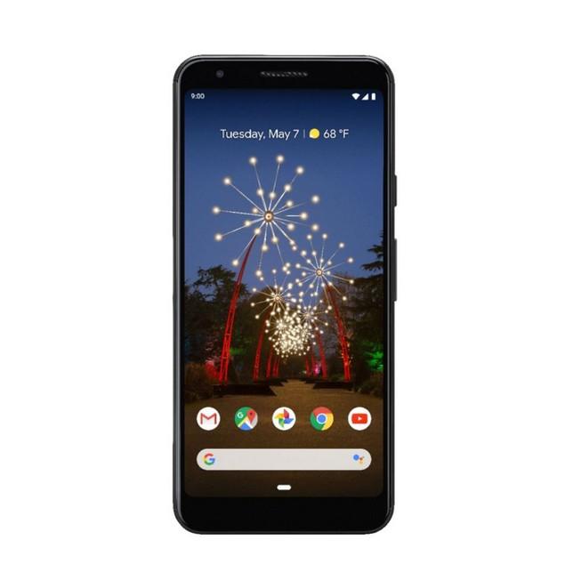 Google Pixel 3a, Verizon, Black, 64 GB, 5.6 in Screen