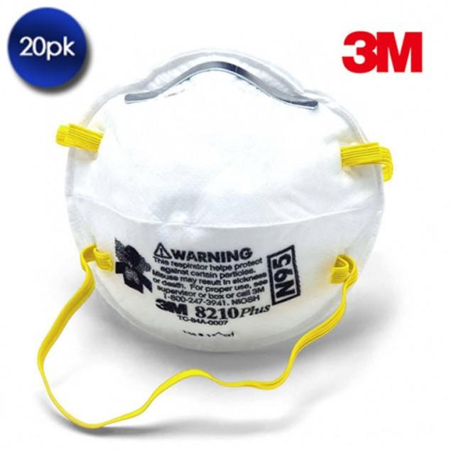 20 Pack: 3M N95 Mask 8210