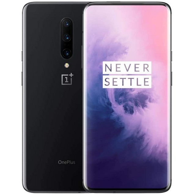 OnePlus 7 Pro, T-Mobile, Gray, 256 GB, 6.67 in Screen