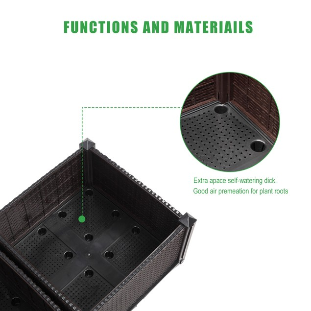 4 Pack Free Splicing Injection Planting Box