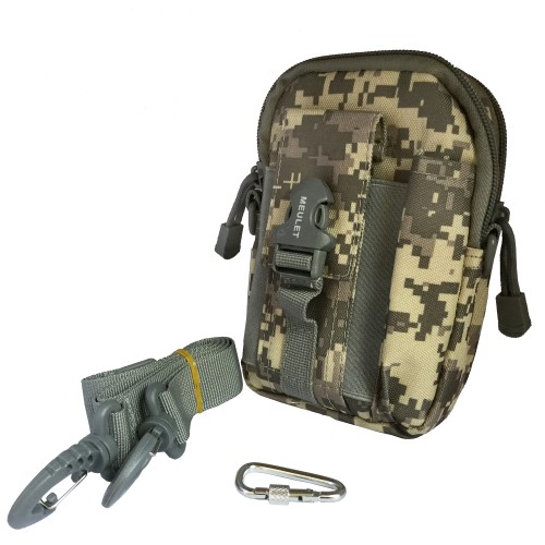 Multifunctional outdoor sports and mobile phone Military Bag Military Grey 5 Pcs