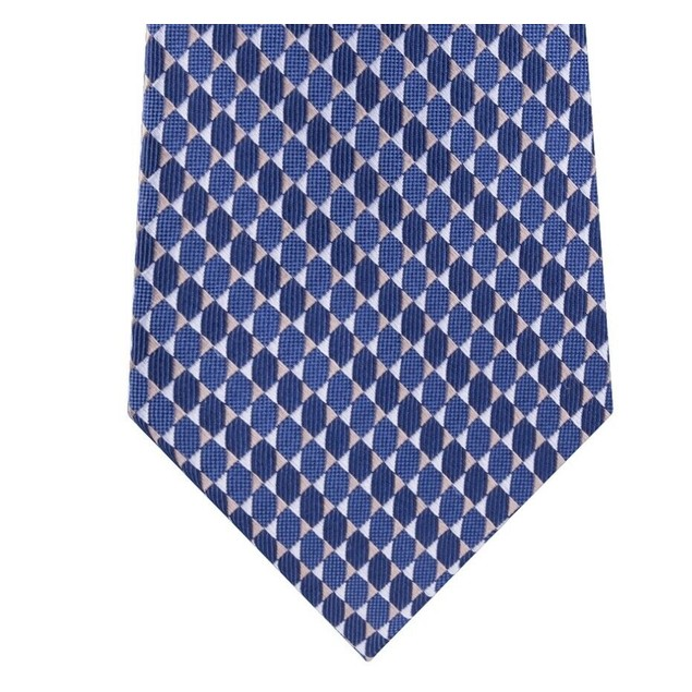 Michael Kors Men's  Mirrored Circles Tie Blue One Size