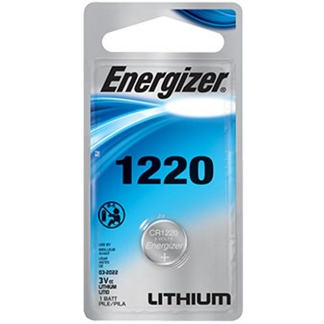 Energizer CR1220 Lithium Coin Cell Battery (1 Battery)
