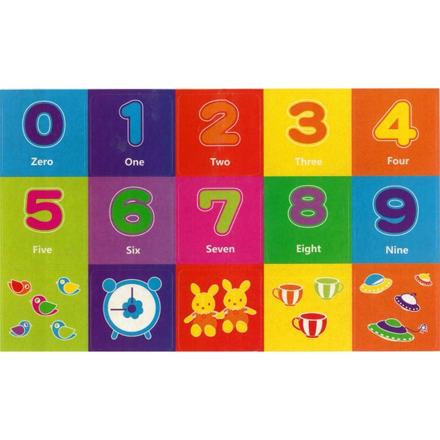 Zunammy Kids Magnetic Building Blocks Tile Set (39-Piece)