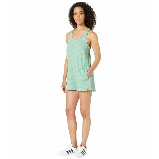 Adidas Women's Sport 2 Street Romper Mint Size Small