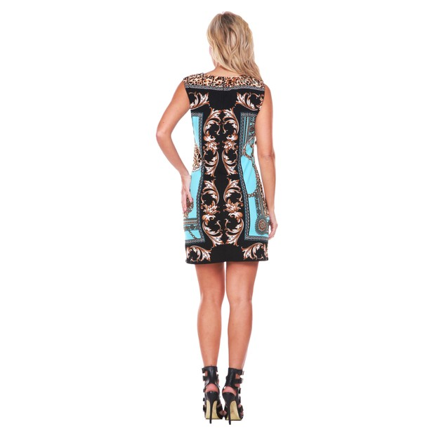 Venetian Printed Mini Dress - 5 Colors