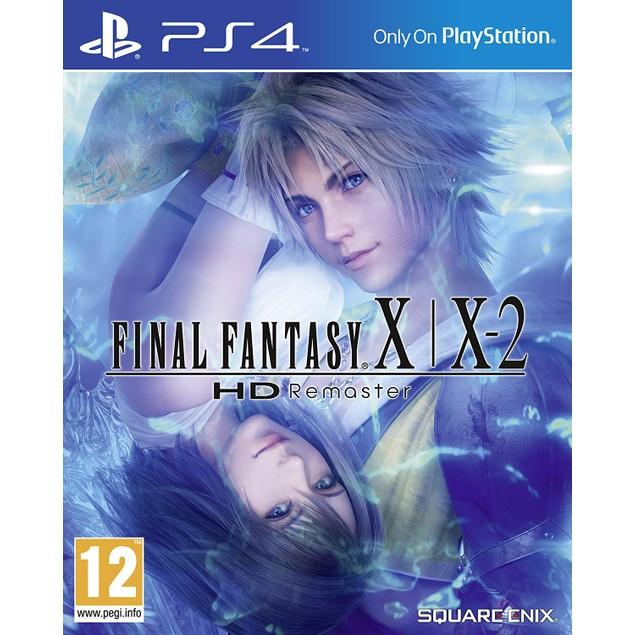 Final Fantasy X and X-2 HD Remastered PS4 Game