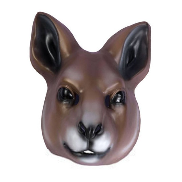 Plastic Kangaroo Mask Wallaby Rocko Rocko's Modern Life Animal Cosplay TV